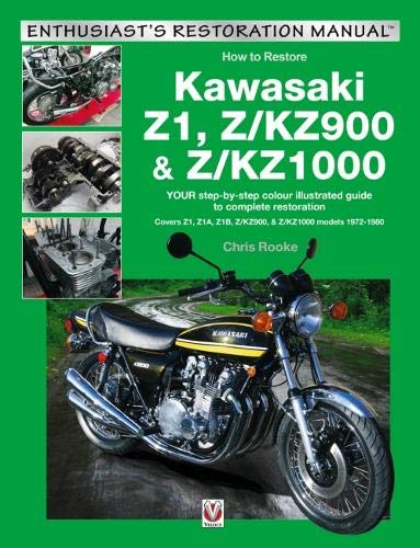 Kawasaki Z1, Z/KZ900 & Z/KZ1000 Restoration Manual Front Cover