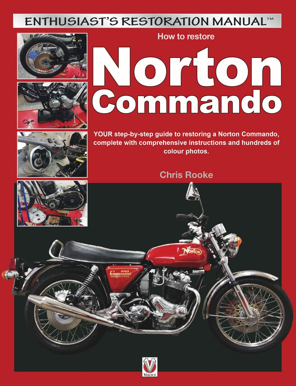 Norton Commando Restoration front cover