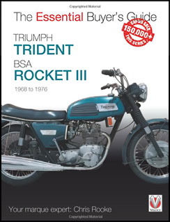 The Essential Buyer's Guide to Triumph Trident and BSA Rocket III - Cover