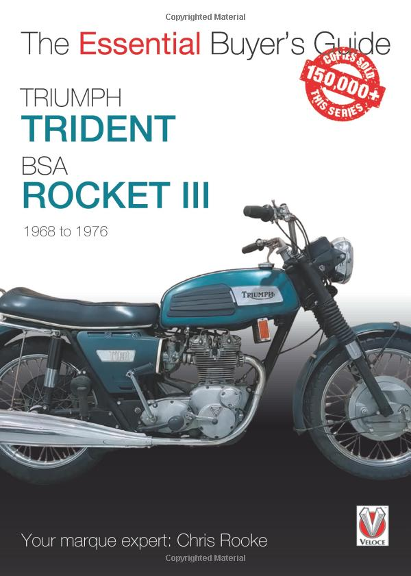 Triumph Trident-and-BSA Rocket III Buyer's Guide front cover