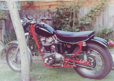 Bike almost finished '78