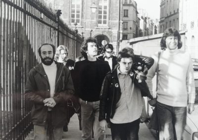 Paris, together with the Art Dept '78