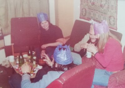 Party in the big lounge '78
