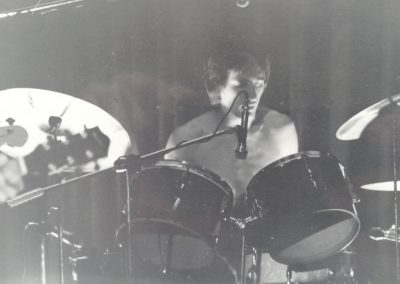 Playing a gig! '78